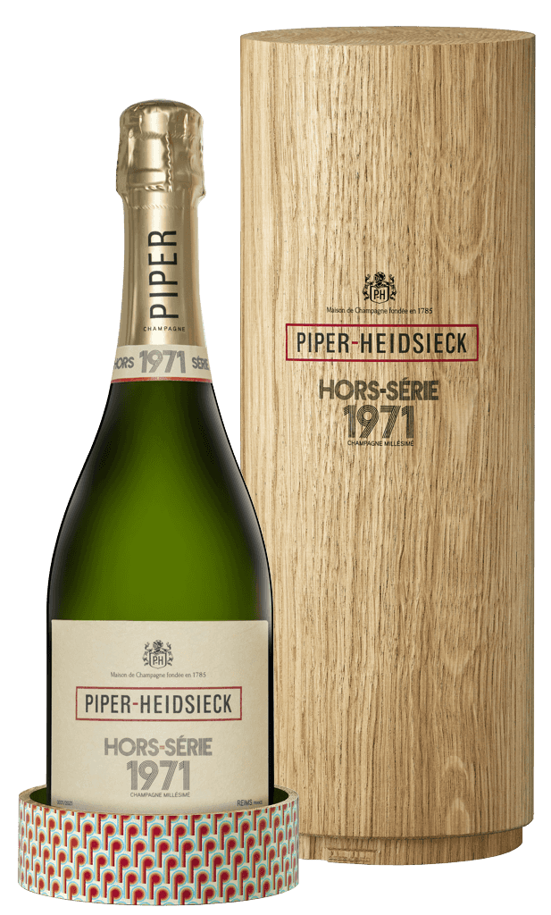 Šampanské Piper Heidsieck Vintage 1971 Horse Serie Brut 12% 0,75l Kazeta