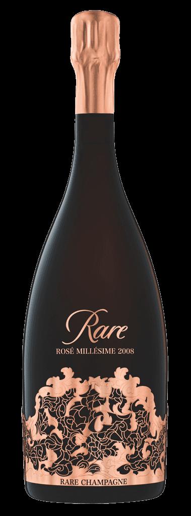 Šampanské Rare Rosé 2008 12% 0,75l Ružové