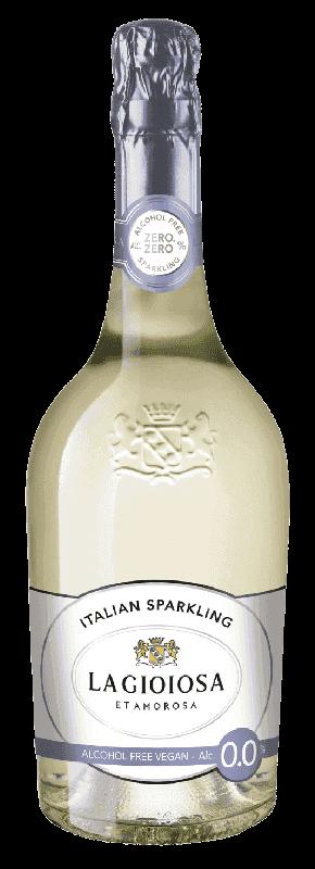 Sýtený Nápoj La Gioiosa Alcohol Free Vegan 0,0% 0,75l