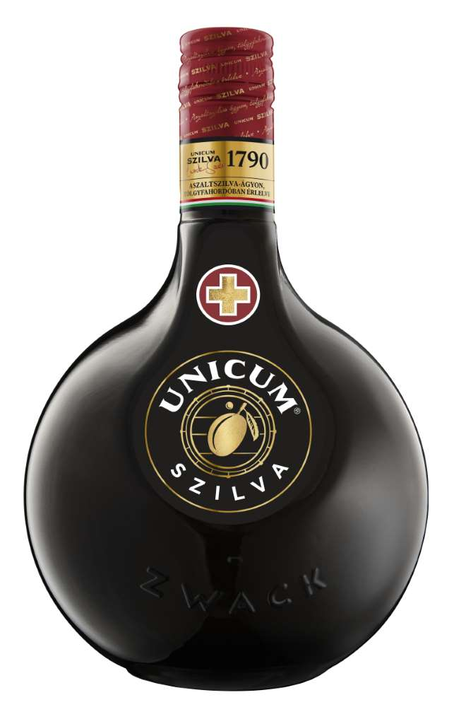 Likér Unicum Szilva Bylinný 34,5% 0,7l