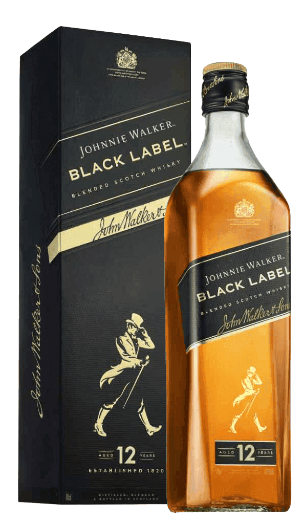Whisky Johnnie Walker Black Label 40% 0,7l Krabička