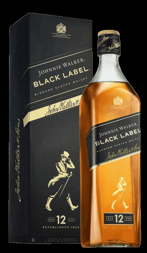 Whisky Johnnie Walker Black Label 40% 0,7l Krabička