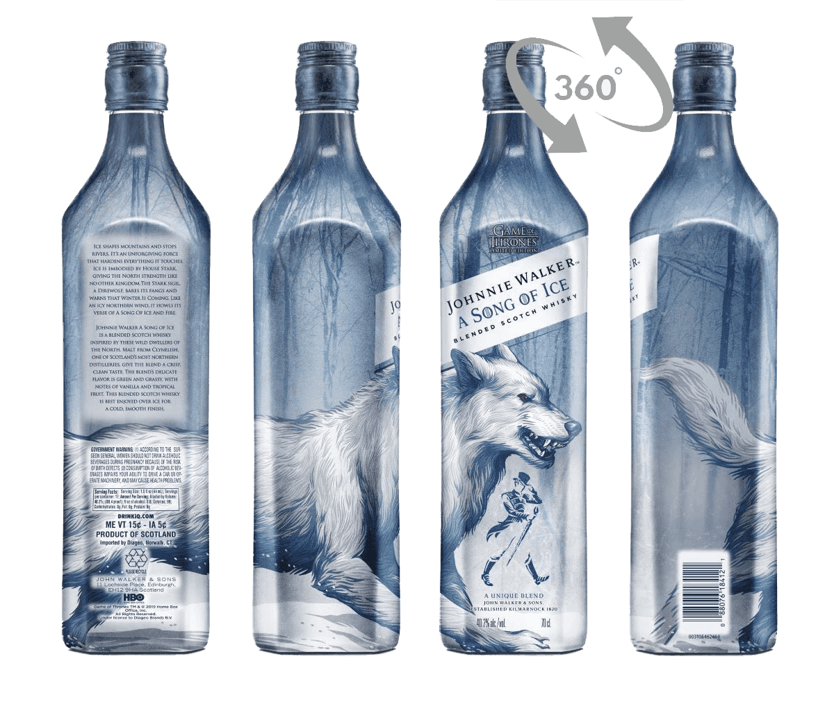 Whisky Johnnie Walker Got Song Of Ice 40,2% 0,7l