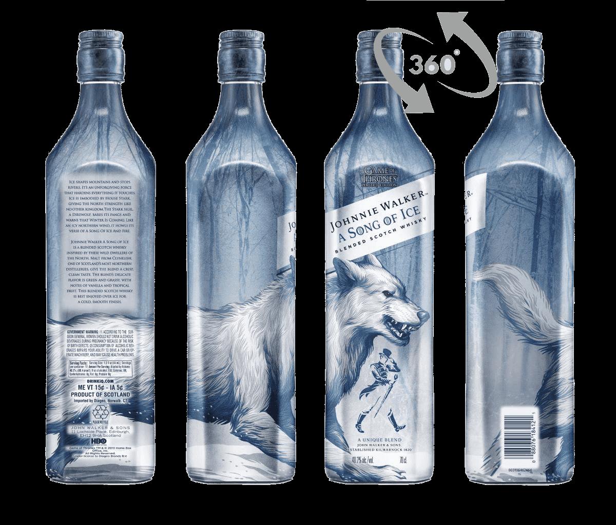 Whisky Johnnie Walker Got Song Of Ice 40,2% 0,7l Krabička