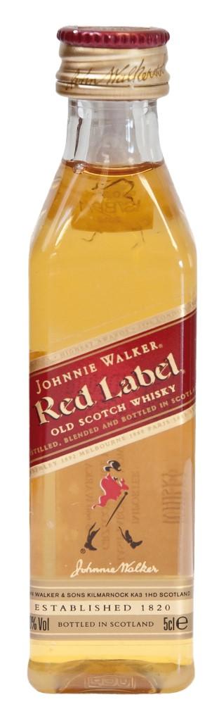 Whisky Johnnie Walker Red Label 40% 0,05l