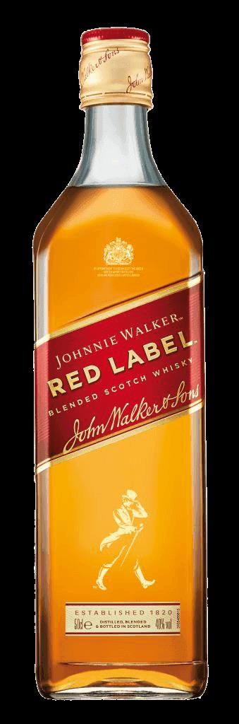 Whisky Johnnie Walker Red Label Sq 40% 0,5l