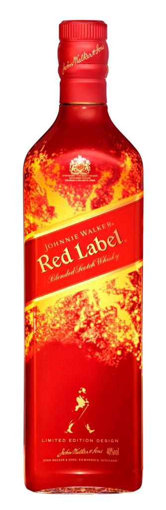 Whisky Johnnie Walker Red Label 40% 0,7l Limited Edition Design