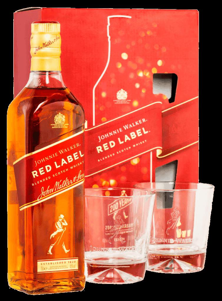 Whisky Johnnie Walker Red Label 40% 0,7l + 2 Poháre 2020