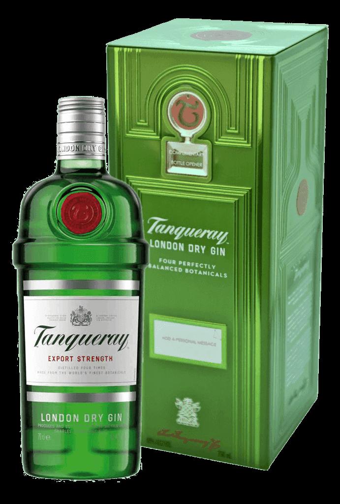 Gin Tanqueray 43,1% 0,7l Plech 2019