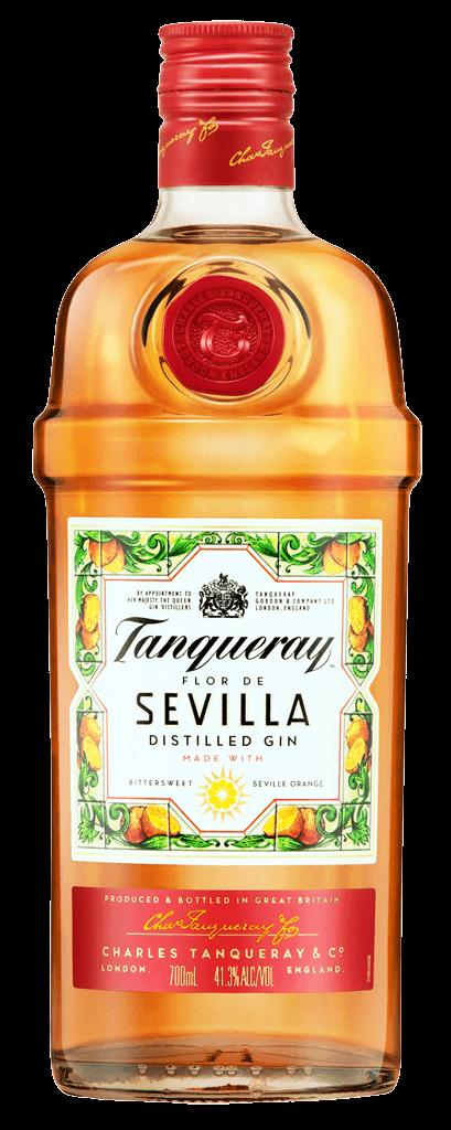 Gin Tanqueray Flor De Sevilla  41,3% 0,7l