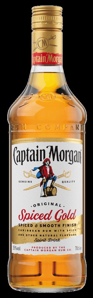 Rum Captain Morgan Original Spiced Gold 35% 0,7l