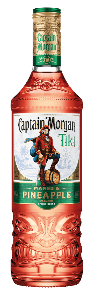 Rum Captain Morgan Tiki Mango & Pineapple 25% 0,7l