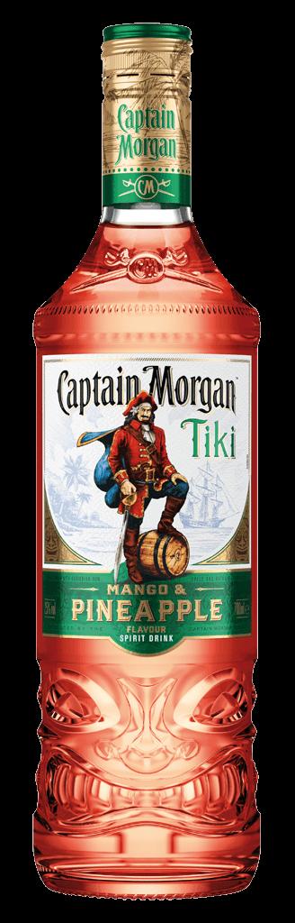 Rum Captain Morgan Tiki Mango & Pineapple 25% 0,7l
