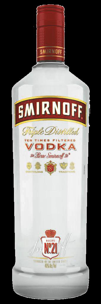 Vodka Smirnoff Red 37,5% 1l