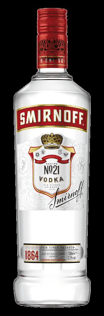 Vodka Smirnoff Red 37,5% 0,7l