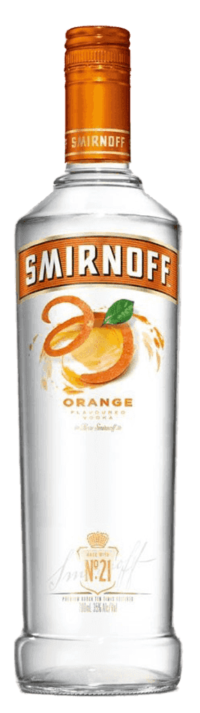 Vodka Smirnoff Orange 37,5% 0,7l
