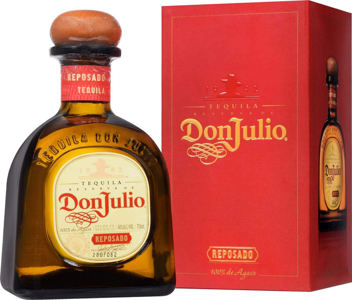 Tequila Don Julio Reposado 38% 0,7l