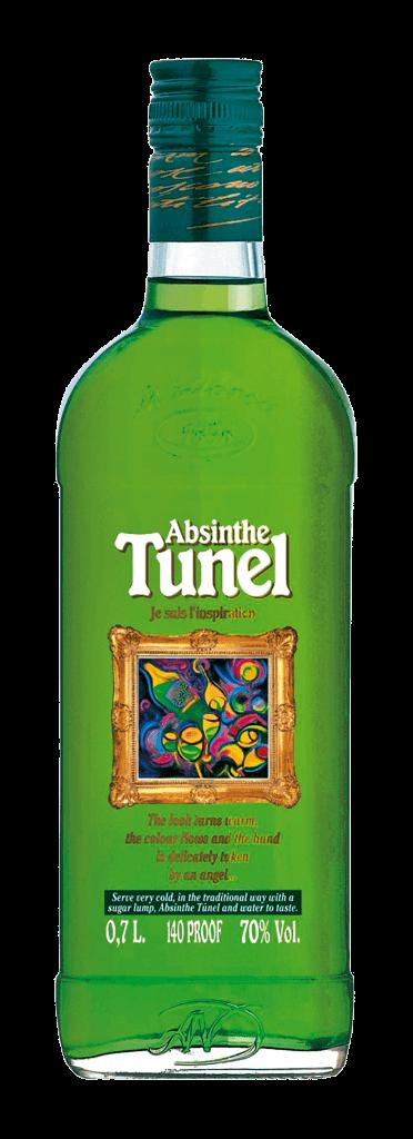 Absinthe Tunel Green 70% 0,7l