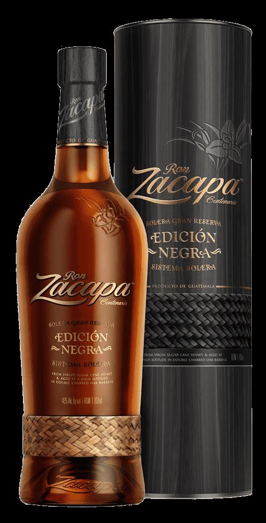 Rum Zacapa Centenario Edicion Negra Solera Gran Reserva 43% 0,7l Tuba