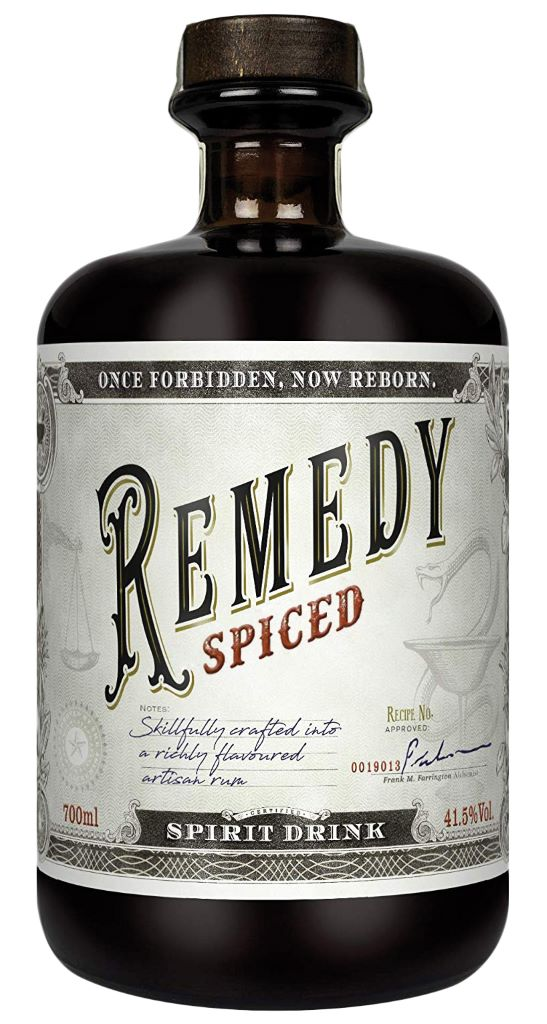 Remedy Spiced 41,5% 0,7l