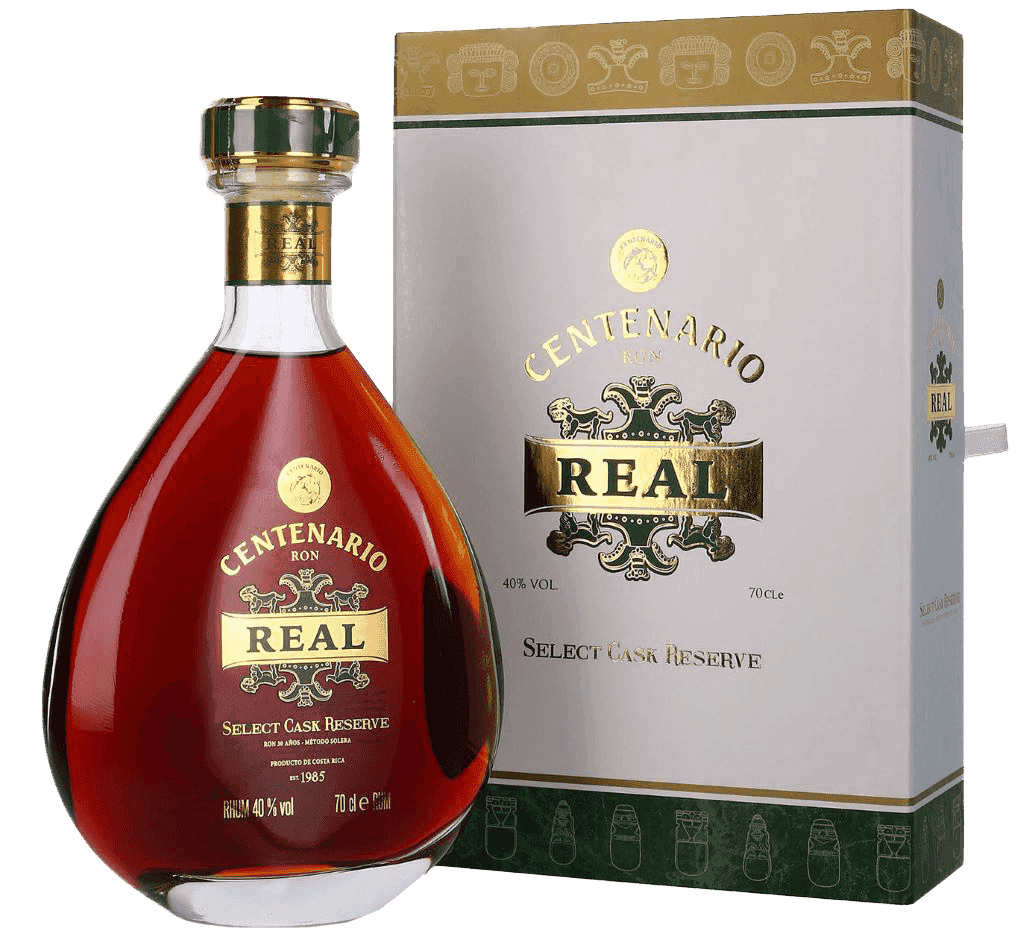 Rum Centenario Real 40% 0,7l Krabička