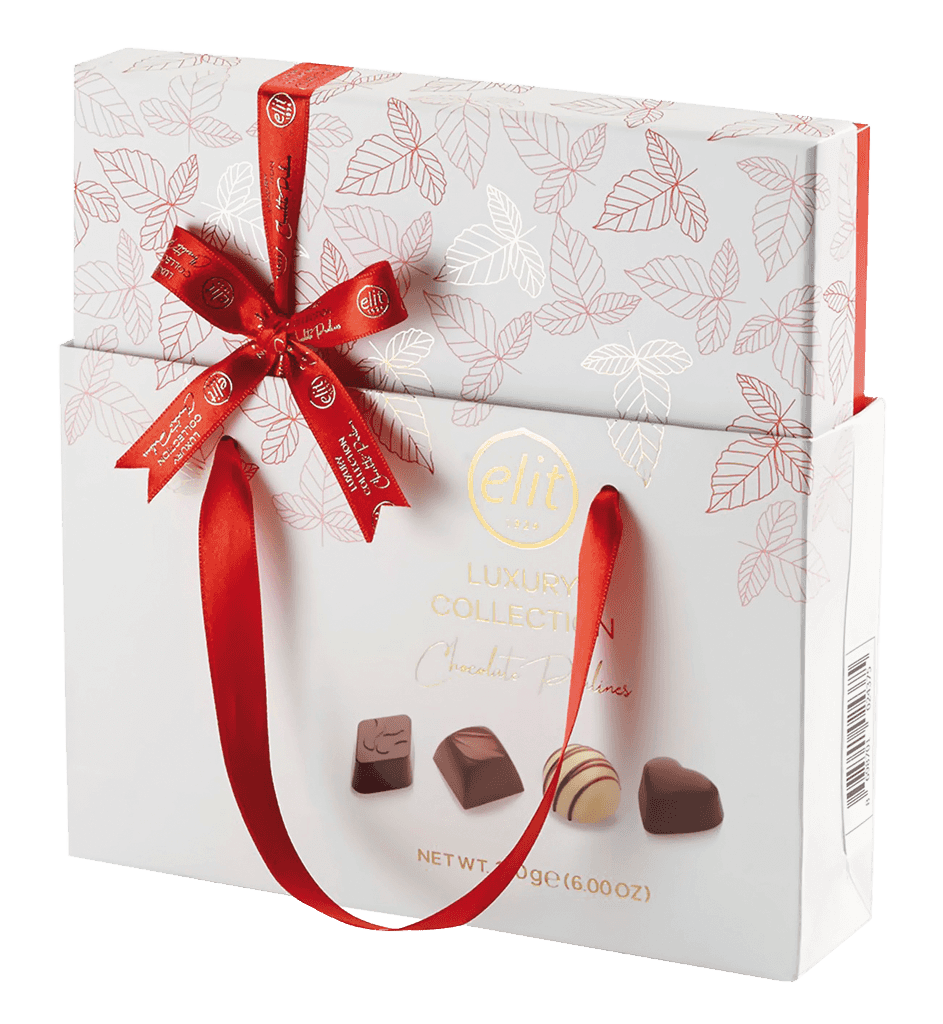 Bonbóny Elit Luxury Collection Chocolate Pralines Red 170g + Darč.taška