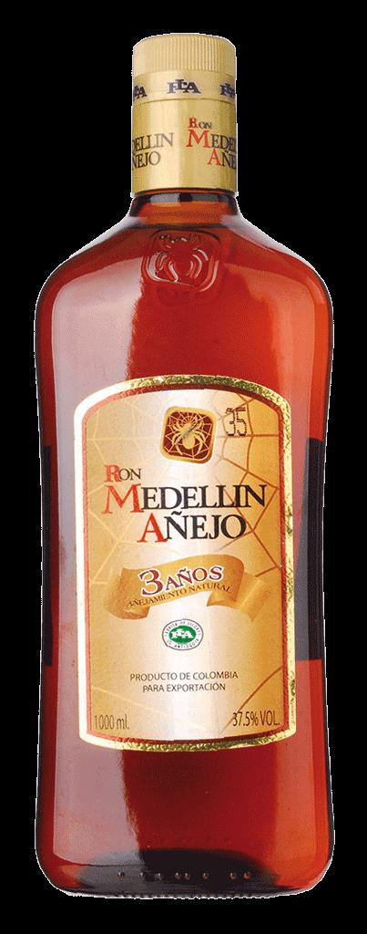 Rum Medellin Anejo 3yo 37,5% 1l
